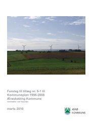 Forslag til tillæg nr. 5-1 til Kommuneplan 1996-2008 Ærøskøbing ...