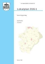 Lokalplan D16-1