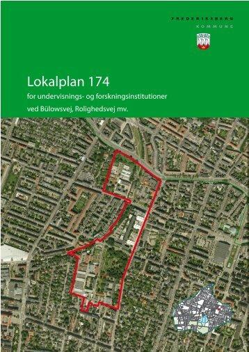 Lokalplan 174 - Frederiksberg Kommune