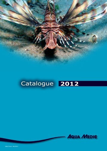 2012 Catalogue - Aqua Medic