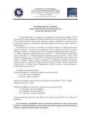 Metodologie - Facultatea de Stiinte Socio-Umane, Universitatea din ...