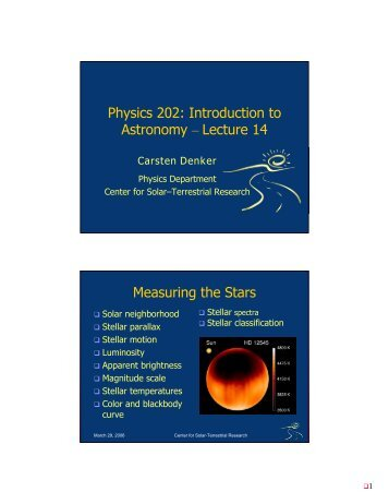 Physics 202 introduction to astronomy lecture 15 h r diagram physics 202 introduction to astronomy lecture 14 measuring the ccuart Gallery