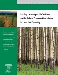 Reflections on the Role of Conservation Science ... - Sonoran Institute