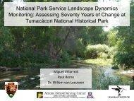 National Park Service Landscape Dynamics Monitoring: Assessing ...