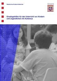 Einstiegshilfen - Autismus-Rhein-Main