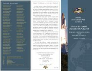 Space Systems Brochure - SSAG