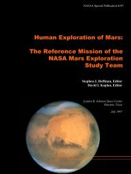 Human Exploration of Mars: The Reference Mission of the NASA ...