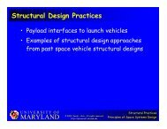 MARYLAND Structural Design Practices