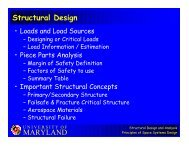 MARYLAND Structural Design