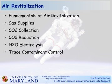 Air Revitalization