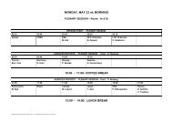 Preliminary Programme - Human Spaceflight, Microgravity and ...