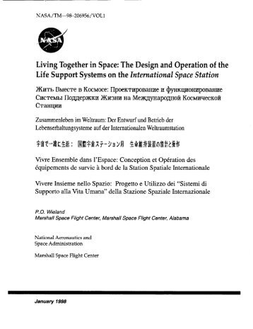 Living Together in Space: The Design and Operation of the Life ...