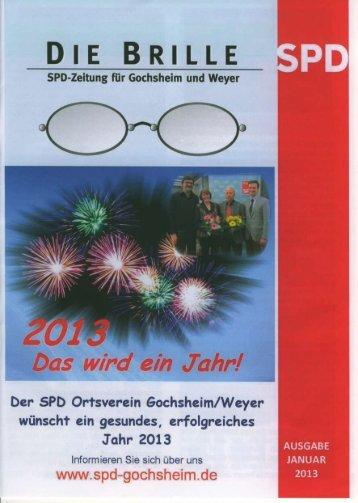 Die Brille - SPD Gochsheim
