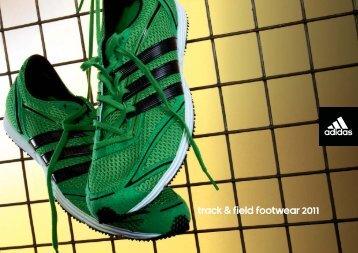 Track & field footwear 2011 - Specialist Sports Shoes Ltd