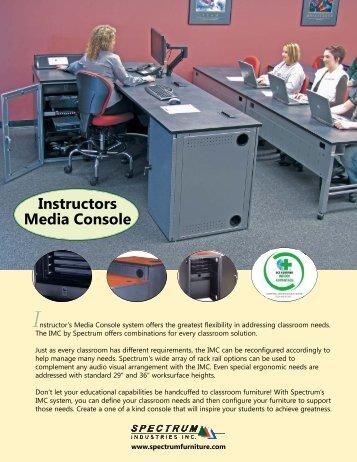 Instructor's Media Console - Spectrum Industries, Inc.