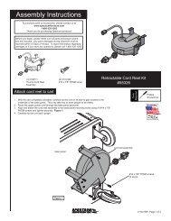 Cord Reel Kit