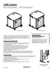 LINK Lectern - 55123 - Spectrum Industries, Inc.