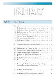 Kapitel 1 Circuit-Training Vorworte ... - sportfachbuch.de