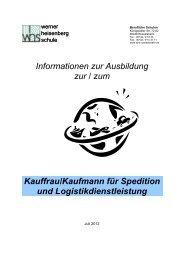 Informationen zur Ausbildung zur / zum Kauffrau/Kaufmann für ...