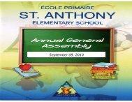 September 09, 2010 - St. Anthony Elementary School - Lester B ...