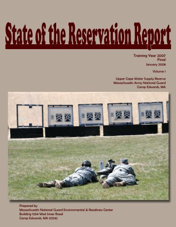 2007 Annual State of the Reservation Report (Main Document)