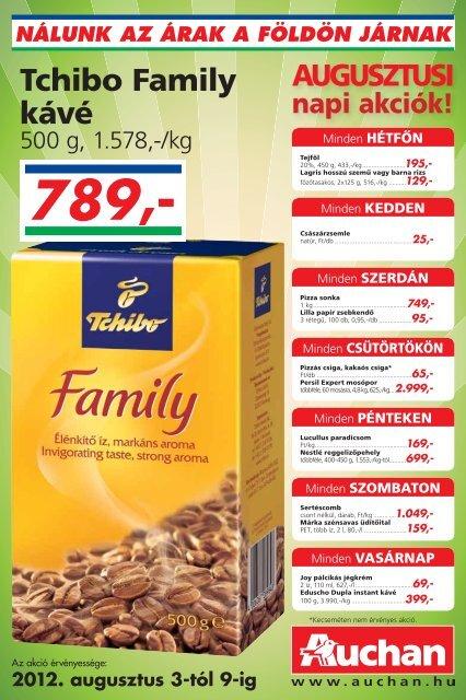 Tchibo Family kávé - Auchan
