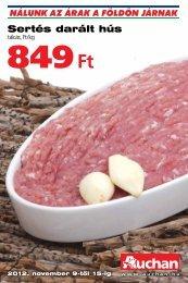 Sertés darált hús - Auchan