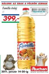Familla étolaj - Auchan