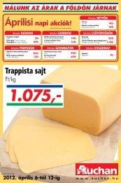 Áprilisi - Auchan