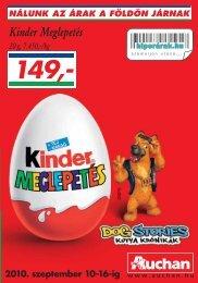 Kinder Meglepetés - Auchan