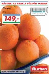 Narancs - Auchan