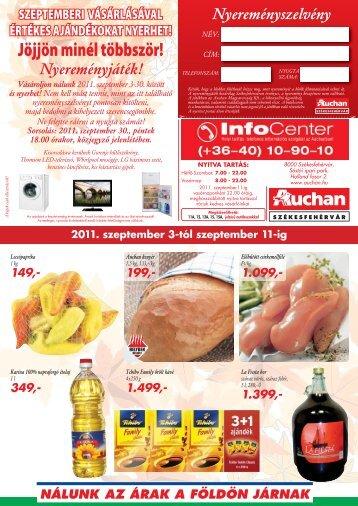 Jöjjön minél többször! - Auchan