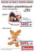 NÁLUNK AZ ÁRAK A FÖLDÖN JÁRNAK - Auchan - Page 6