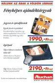 NÁLUNK AZ ÁRAK A FÖLDÖN JÁRNAK - Auchan - Page 7