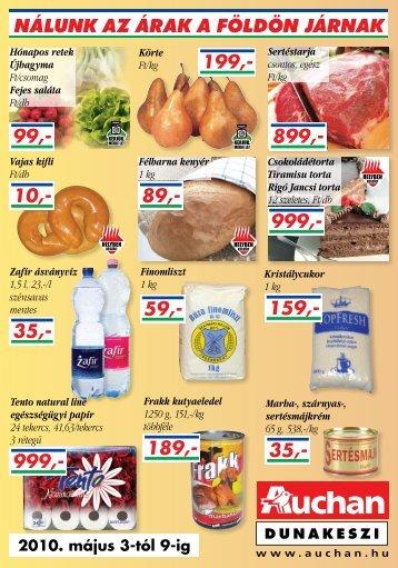 2010. május 3-tól 9-ig - Auchan
