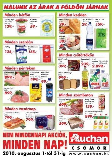 MINDEN NAP! - Auchan