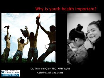 Why is youth health important? - bewell.org.nz