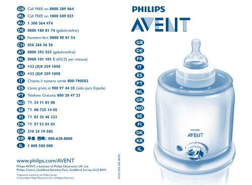 www.philips.com/AVENT