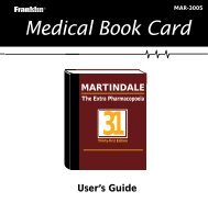 Medical Book Card