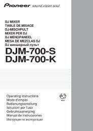 DJM-700-S DJM-700-K