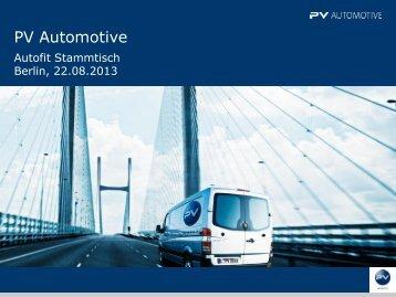 Autofit Stammtisch Berlin vom 22.08.2013