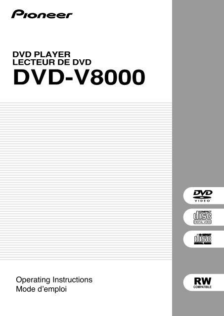 DVD-V8000
