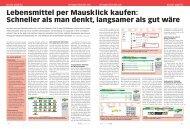 Lebensmittel per Mausklick kaufen: Schneller als man ... - Zeix AG