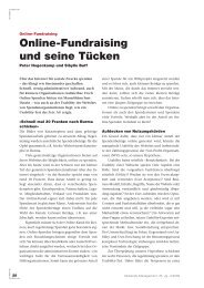 Verbands-Management, 35. Jg., 3/2009 - Zeix AG