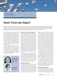 Gmail: Fluch oder Segen? - Zeix AG