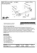 Monteringsinstruktion: BMW 300 serie E36 01/1991 ... - Schmiedmann - Page 2