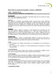 Mobil/Tablet og Laptopforsikringsaftale, kontrakt nr ... - Telia