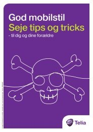God mobilstil Seje tips og tricks - Telia