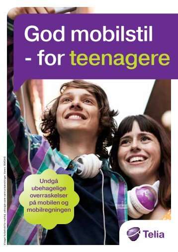 God mobilstil - for teenagere - Telia
