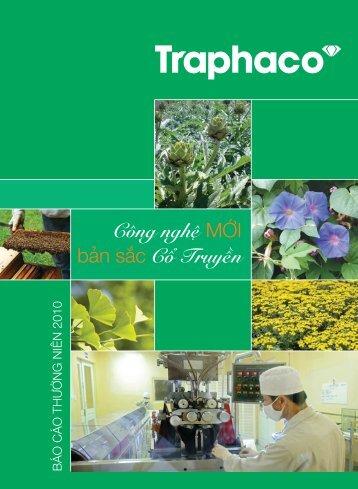 báo cáo tài chính 2010 - Traphaco